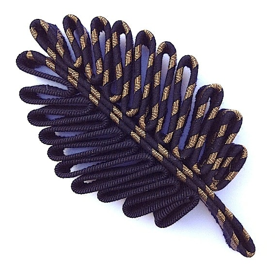 Broches plume 4